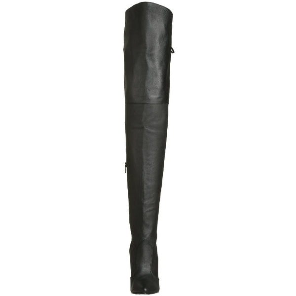 PLEASER LEGEND-8899 Black Leather Thigh High Boots - Shoecup.com - 4