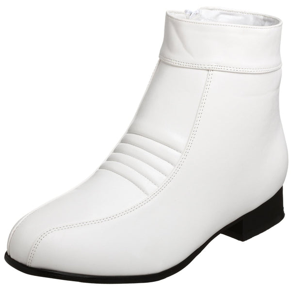 Men's White Star War Stormtrooper Boots - Shoecup.com - 1