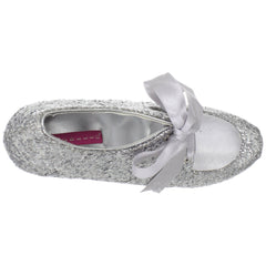 Bordello,Bordello TEEZE-10G Silver Glitter Pumps - Shoecup.com