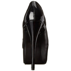 Bordello,Bordello TEEZE-20 Black Pu-Black Pat Bootie - Shoecup.com