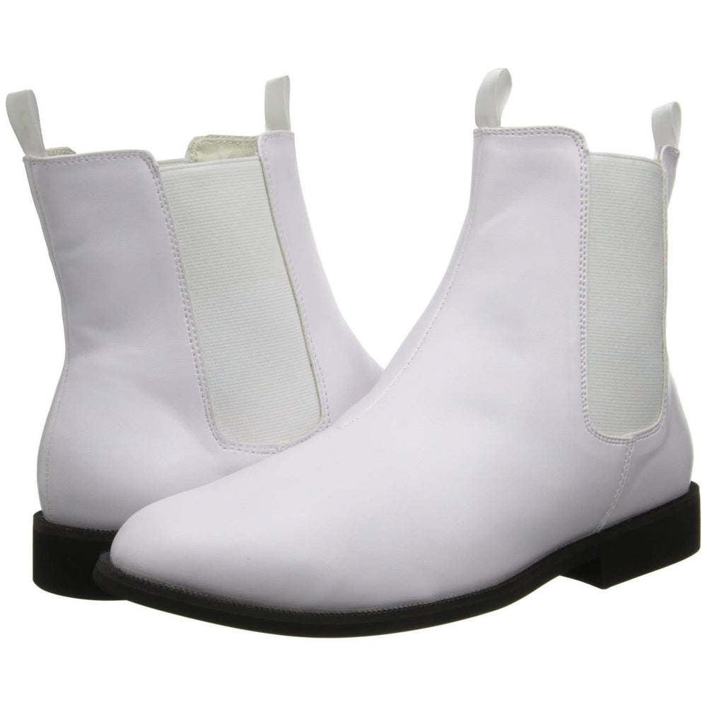 Men's White Stormtrooper Boots