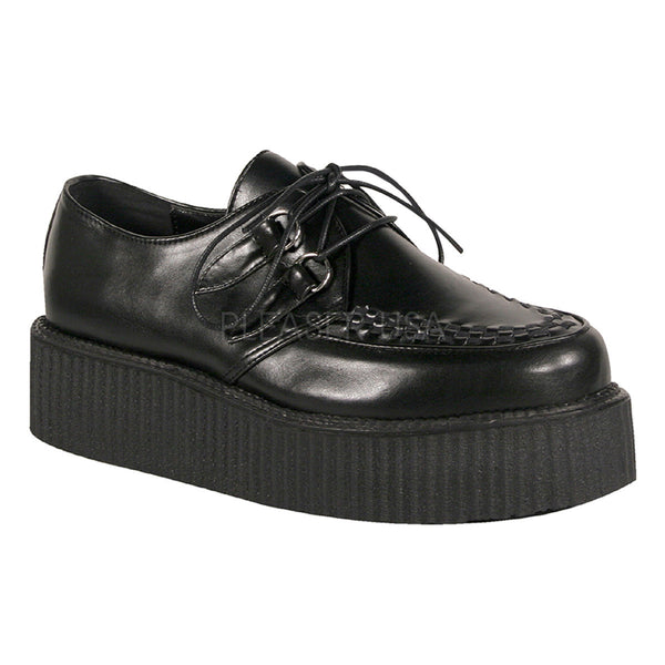 DEMONIA V-CREEPER-502 Men's Black Pu Creepers - Shoecup.com - 1