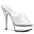 PLEASER ALLURE-601 Clear Stiletto Sandals - Shoecup.com - 1
