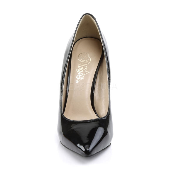 PLEASER AMUSE-20 Black Pat Pumps - Shoecup.com - 2