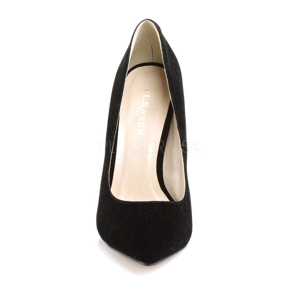 PLEASER AMUSE-20 Black Velvet Pumps - Shoecup.com - 2