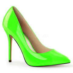 PLEASER AMUSE-20 Neon Green Pumps - Shoecup.com - 1