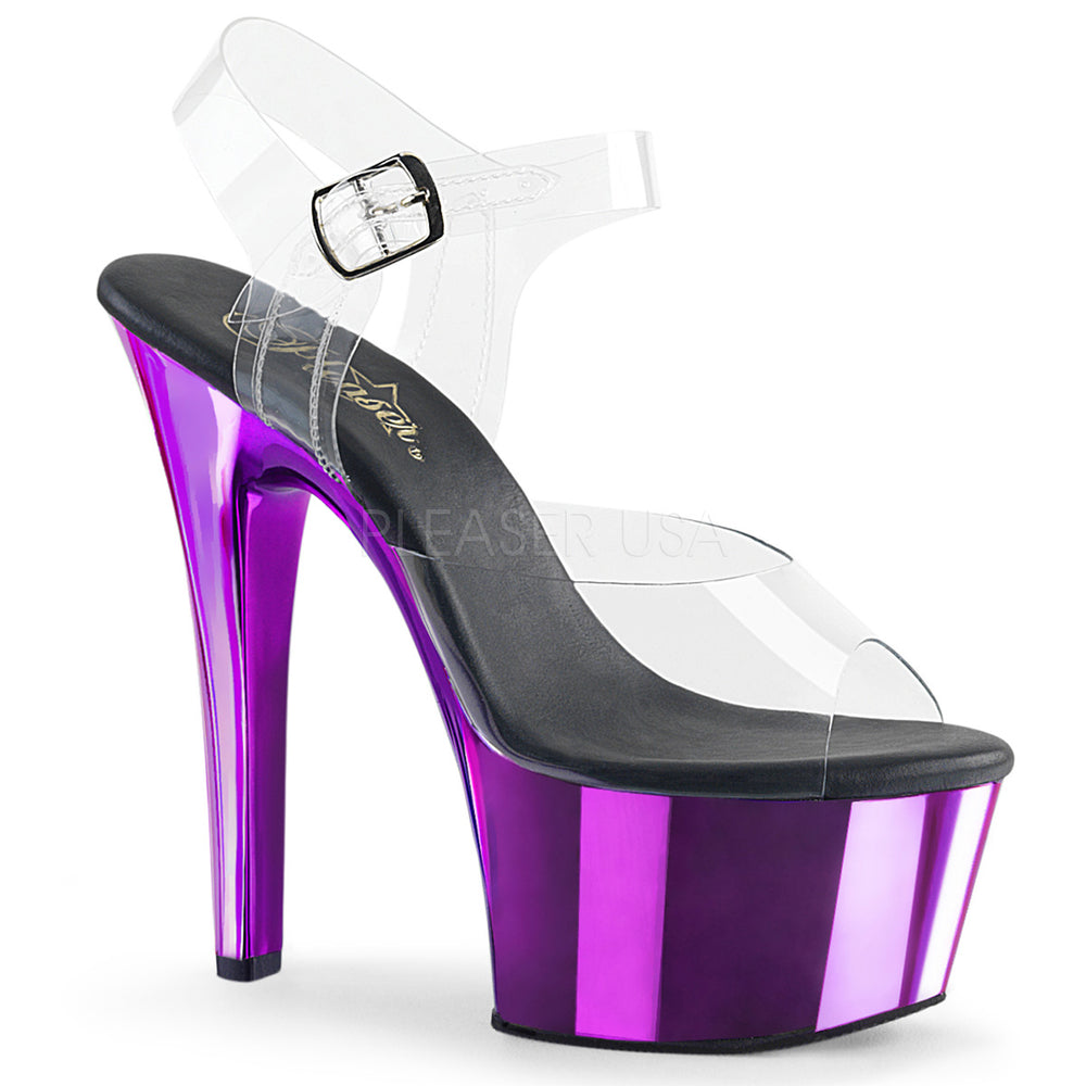 "6"" Heel ASPIRE-608 Purple Chrome"