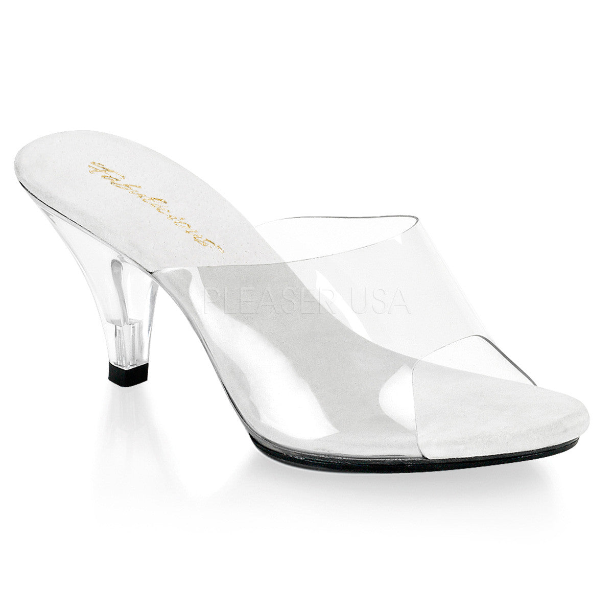 Fabulicious BELLE-301 Clear Sandals - Shoecup.com