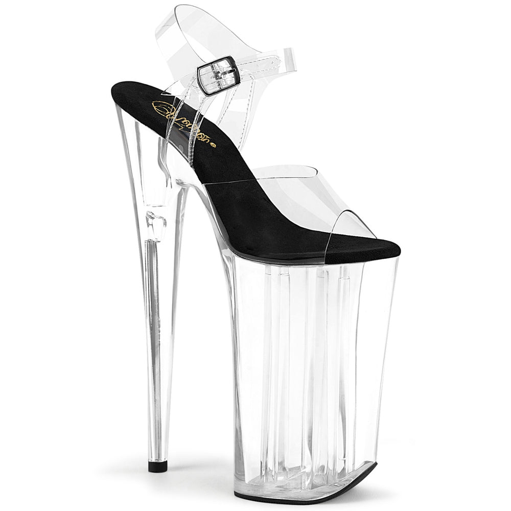 "10"" Heel BEYOND-008 Clear Black"