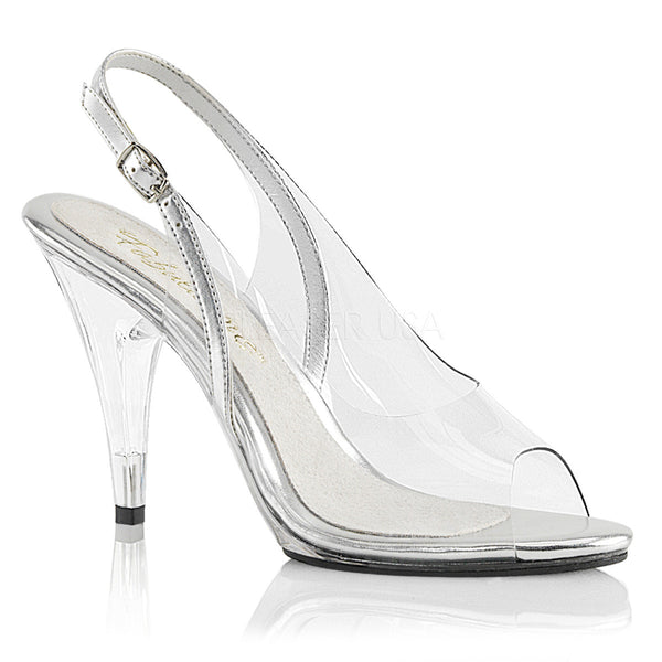5f7d43eb8fd Fabulicious CARESS-450 Clear Sling Back Sandals - Shoecup.com - 1