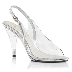 Fabulicious CARESS-450 Clear Sling Back Sandals - Shoecup.com - 1
