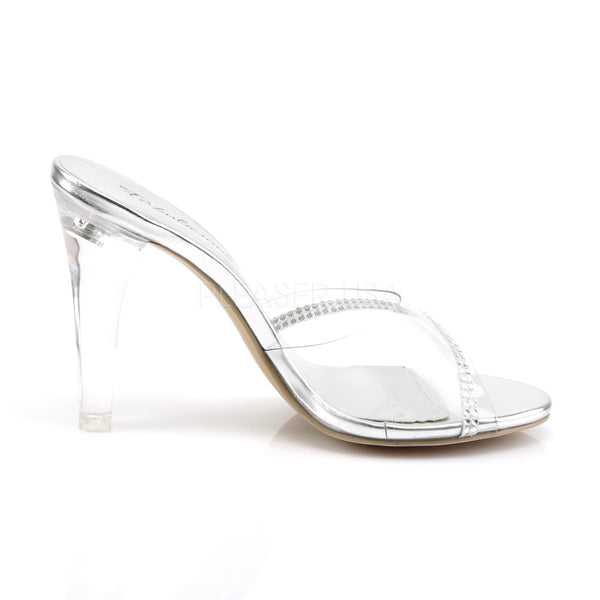 FABULICIOUS CLEARLY-401R Clear Lucite Slides