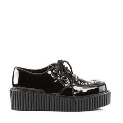 Demonia,Demonia CREEPER-108 Black Patent Creepers - Shoecup.com