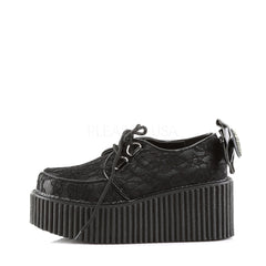 Demonia,Demonia CREEPER-212 Black Vegan Leather Creepers - Shoecup.com