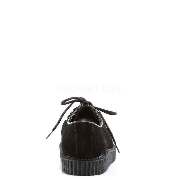 Demonia,DEMONIA CREEPER-602S Men's Black Suede Creepers - Shoecup.com
