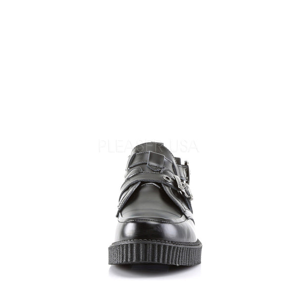 Demonia Men's CREEPER-615 Men's Black Leather Creepers - Shoecup.com - 4