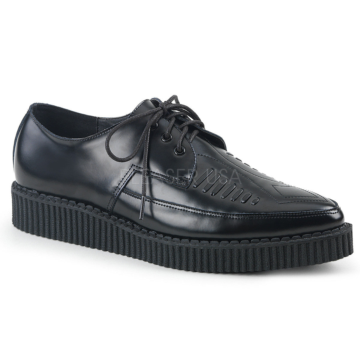 "1 1/4"" Platform Pointed Toe Oxford Creeper"