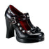 Demonia,DEMONIA CRYPTO-06 Black Pu Platform Mary Jane - Shoecup.com