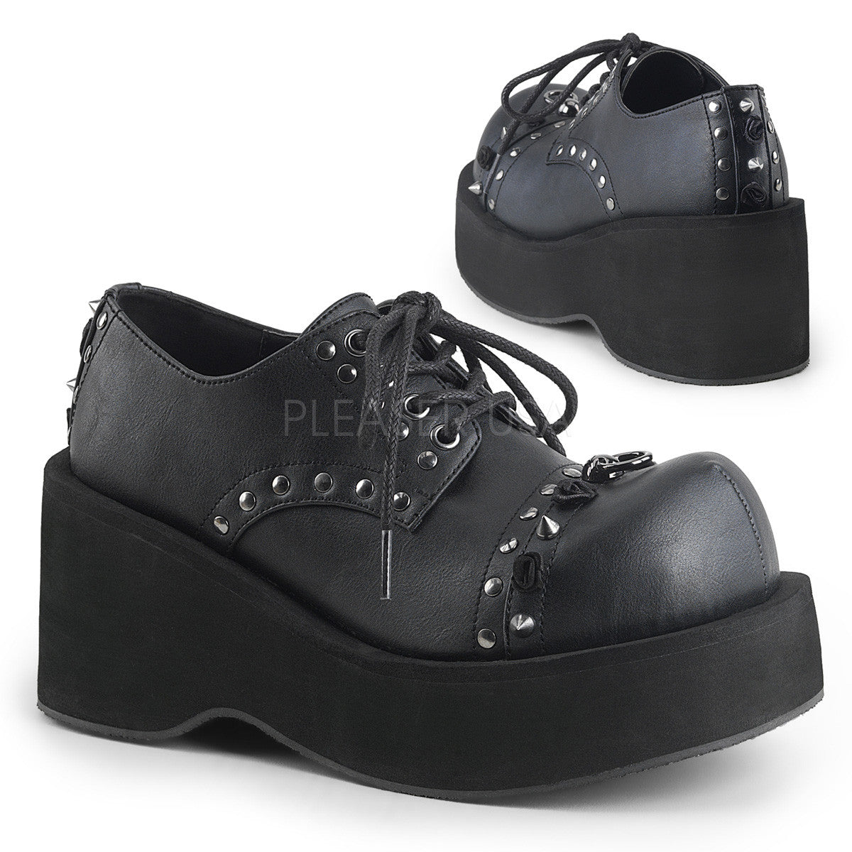 "3"" Platform Lace-Up Oxford Shoe"