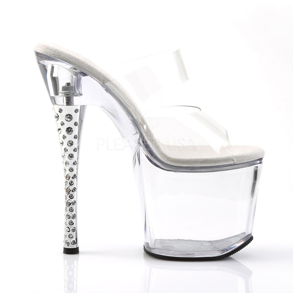 PLEASER DIAMOND-702 Clear Slides