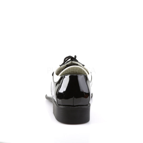 Men's Black and White Disco Shoes