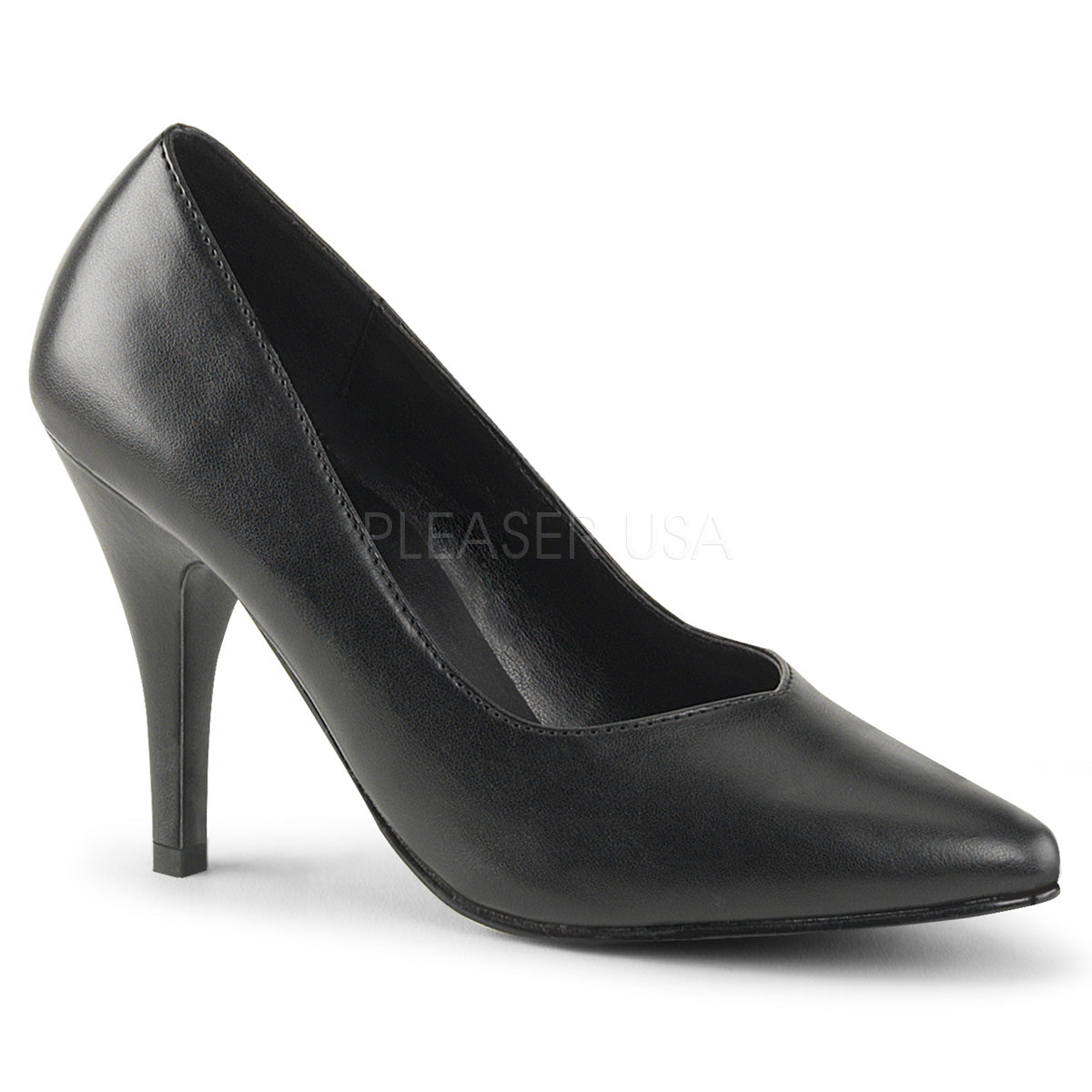 "4"" Heel DREAM-420 Black Pu"
