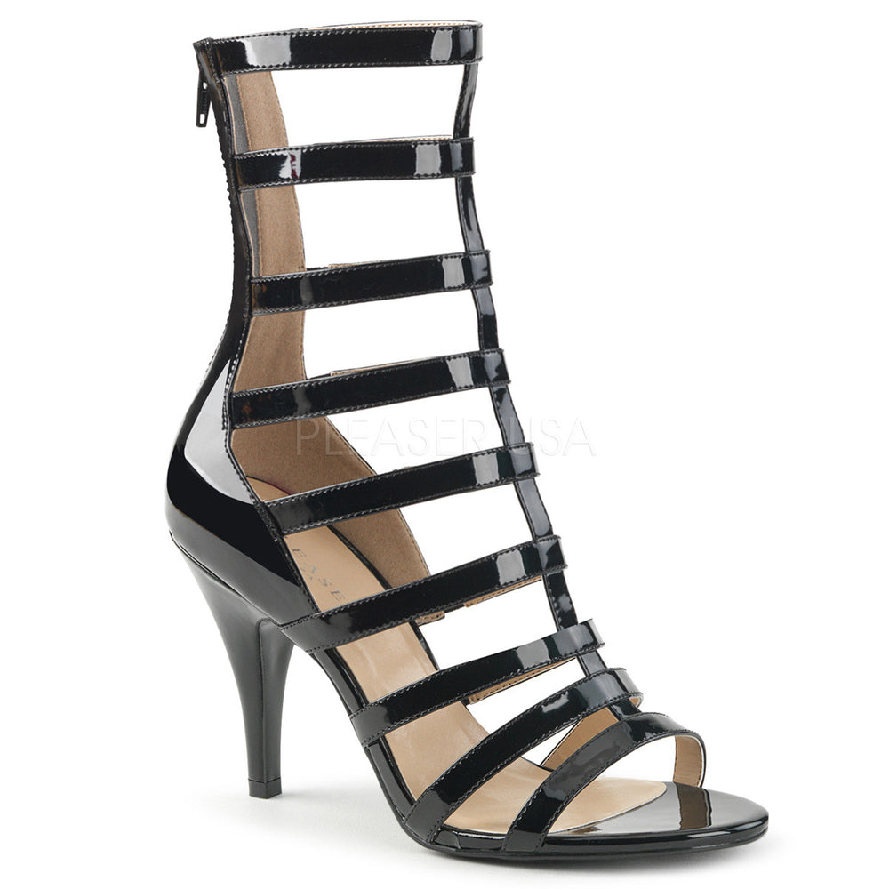 "4"" Heel DREAM-438 Black Pat"