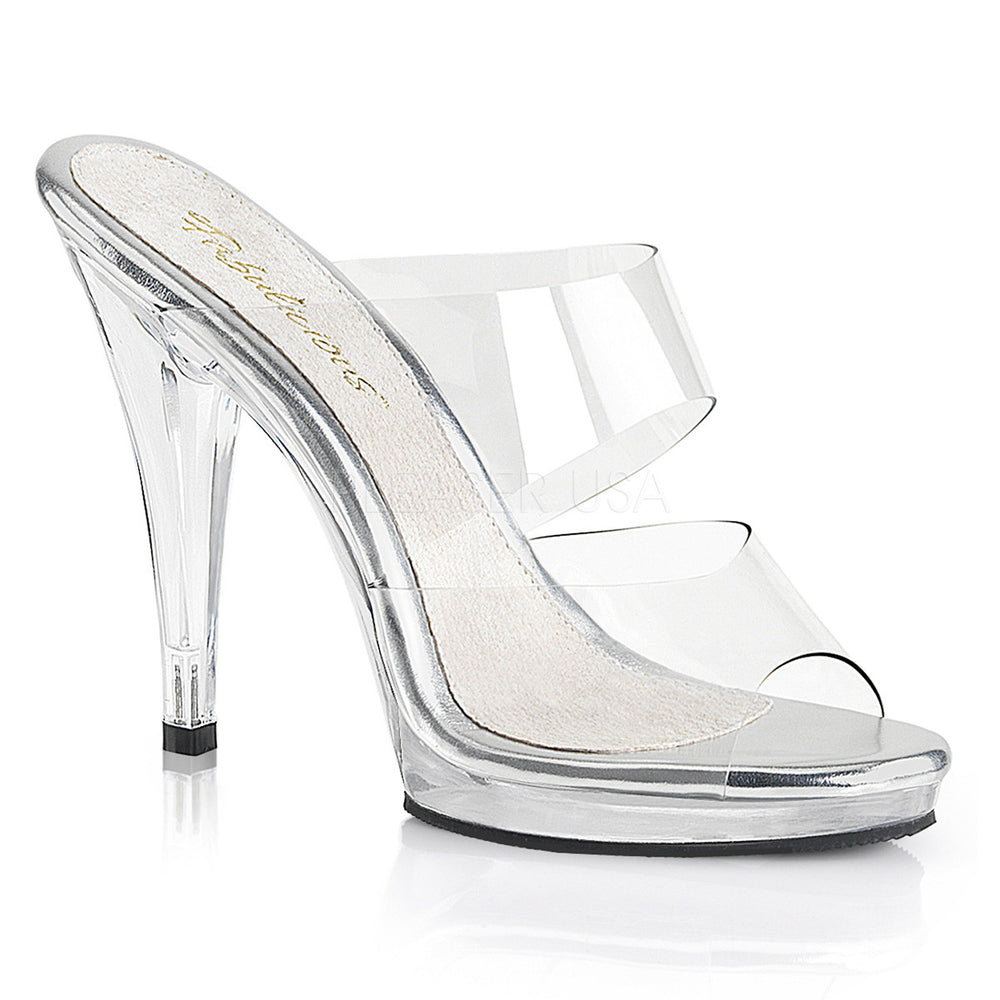 Fabulicious FLAIR-402 Clear Platform Slide