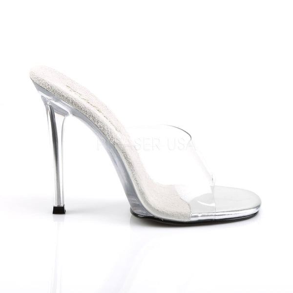 FABULICIOUS GALA-01 Clear Lucite Sandals