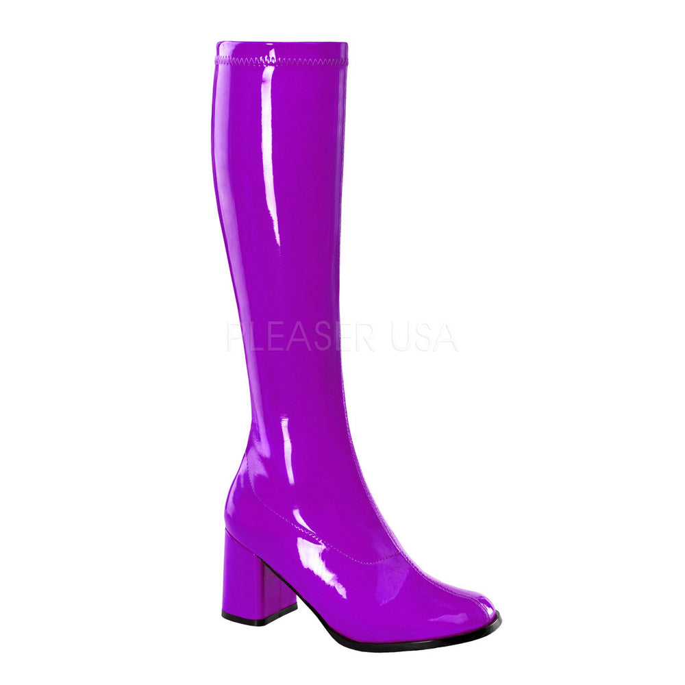 "3"" Heel GOGO-300 Purple Pat"