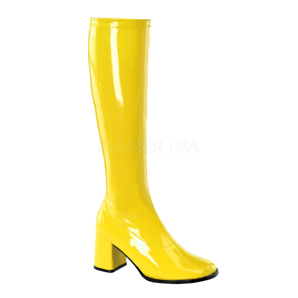 "3"" Heel GOGO-300 Yellow Pat"