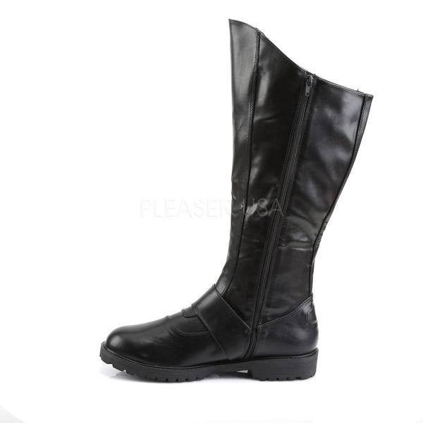 Men's Black Super Hero Boots