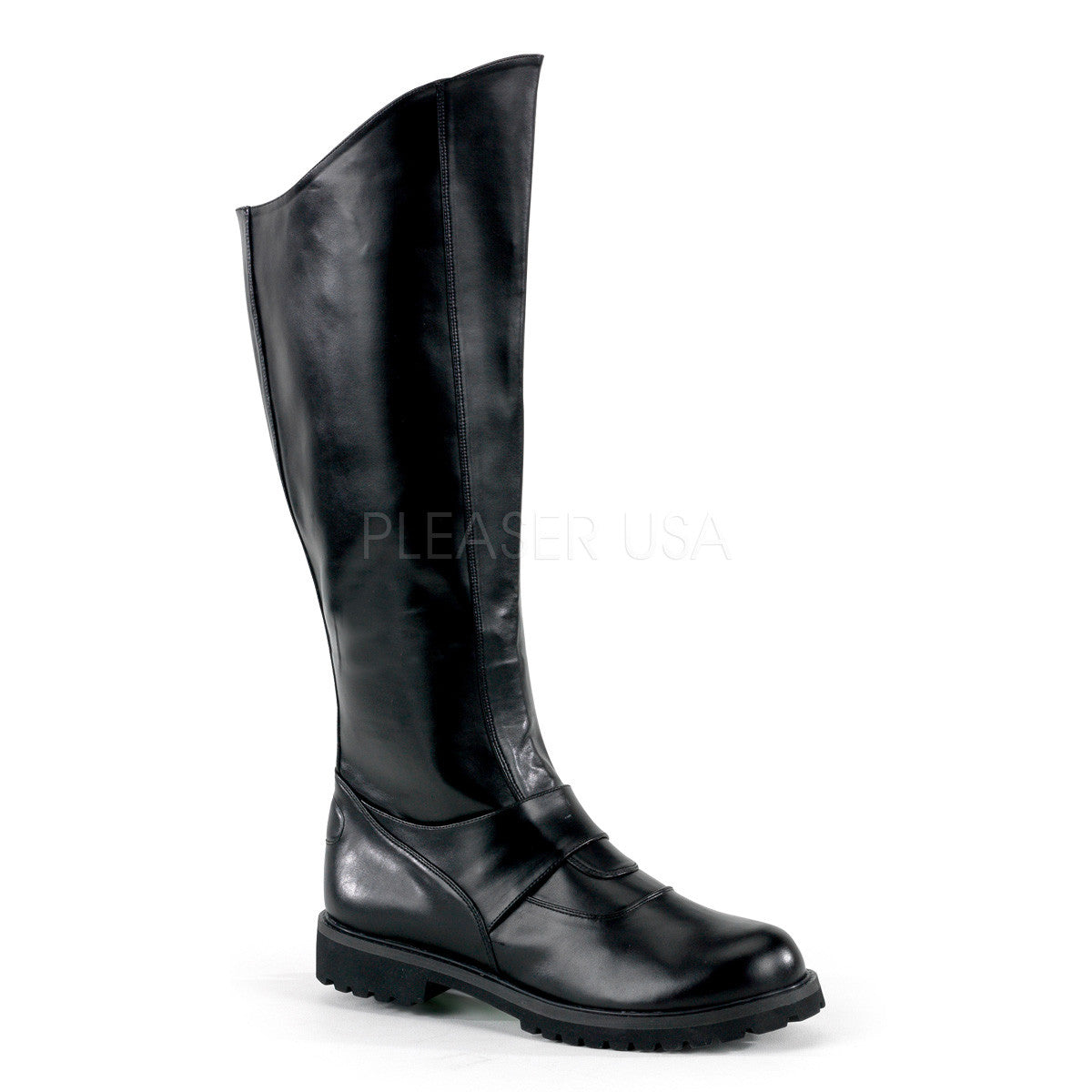 Men's Black Super Hero Boots - Shoecup.com