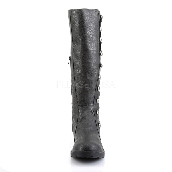 Men's Black Renaissance Medieval Pirate Boots