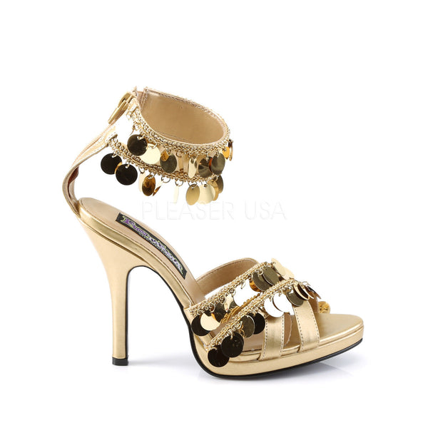 Gold Gypsy Heel with Bohemian Chime