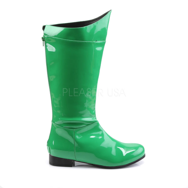 Men's Green Super Hero Boots