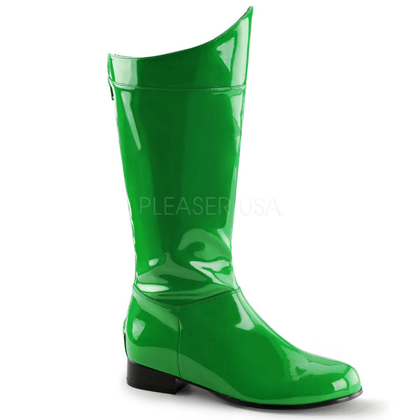 Men's Green Super Hero Boots - Shoecup.com