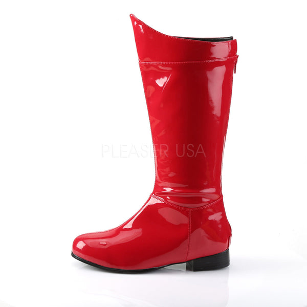 Men's Red Super Hero Boots