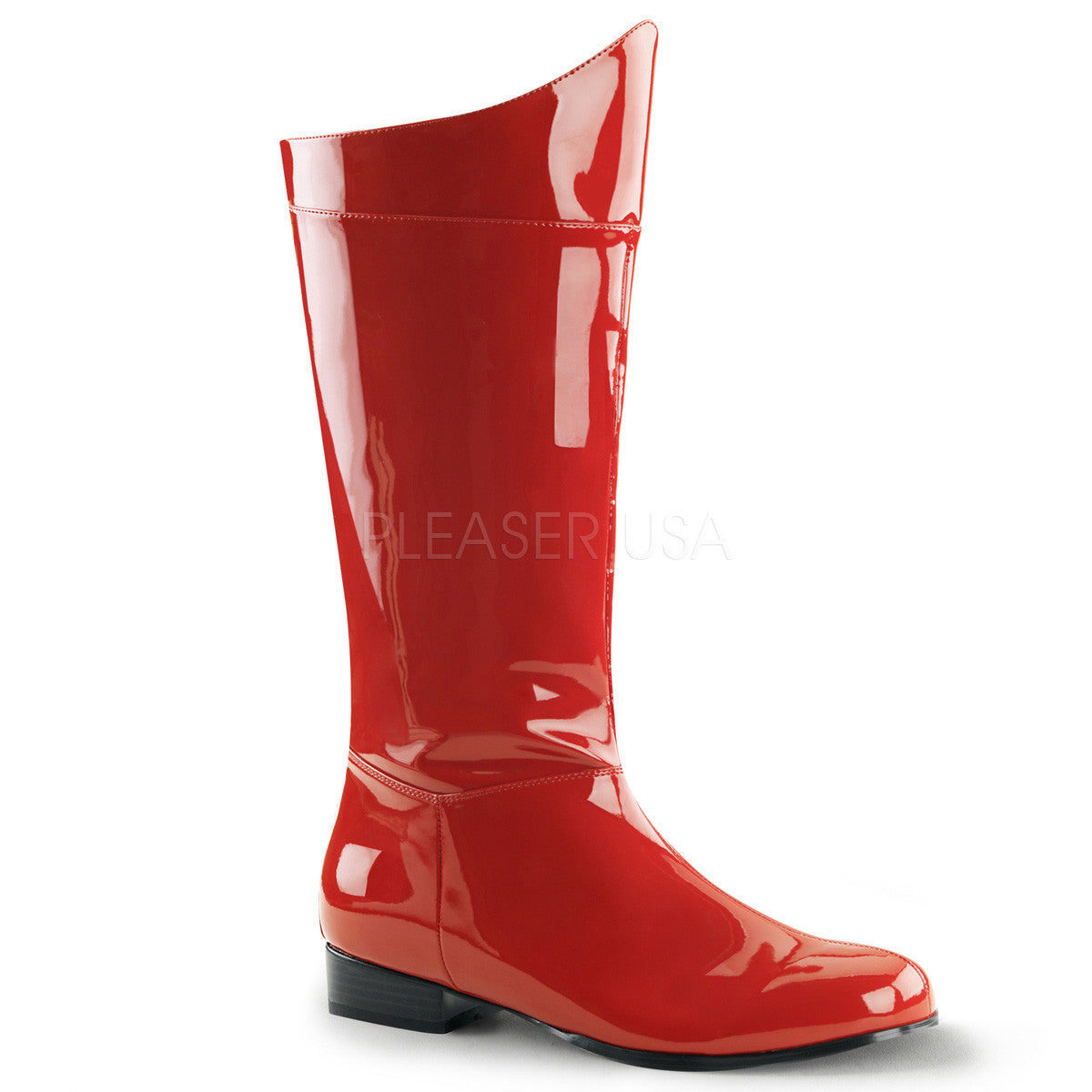 Men's Red Super Hero Boots - Shoecup.com