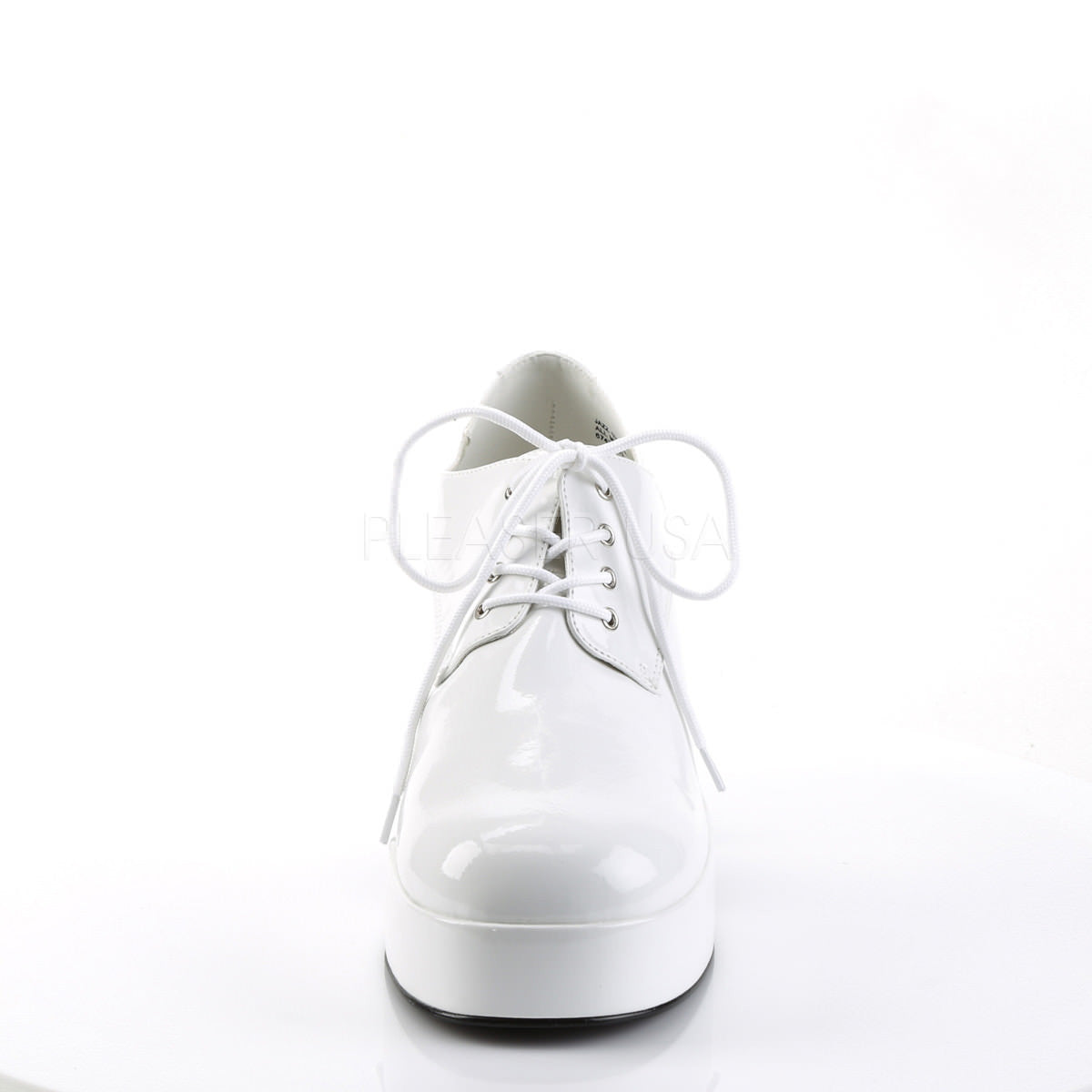 White Patent Disco Costume Shoes Mens XLG 14