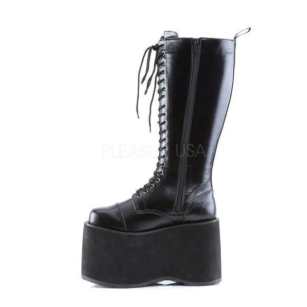 DEMONIA MEGA-602 Men's Black Pu Vegan Boots - Shoecup.com - 2