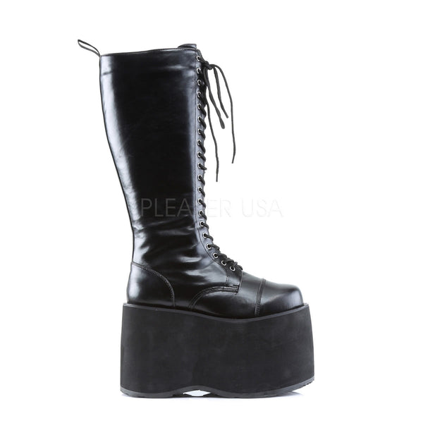 DEMONIA MEGA-602 Men's Black Pu Vegan Boots - Shoecup.com - 3