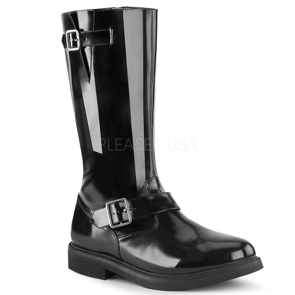 "1"" Heel OFFICER-201 Black"