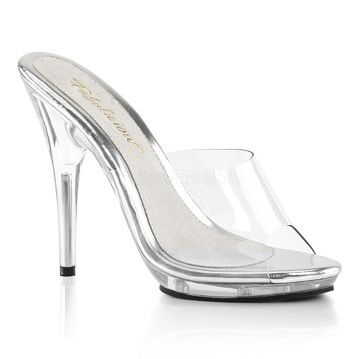 Fabulicious POISE-501 Clear Platform Slide