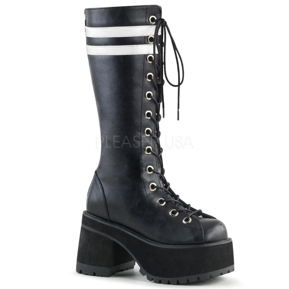 "3"" Heel RANGER-320 Black Leather"