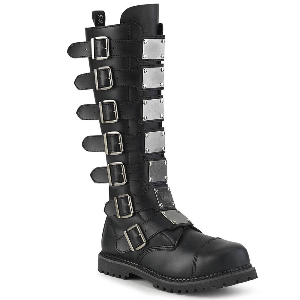 7 Buckles RIOT-21MP Black Pu