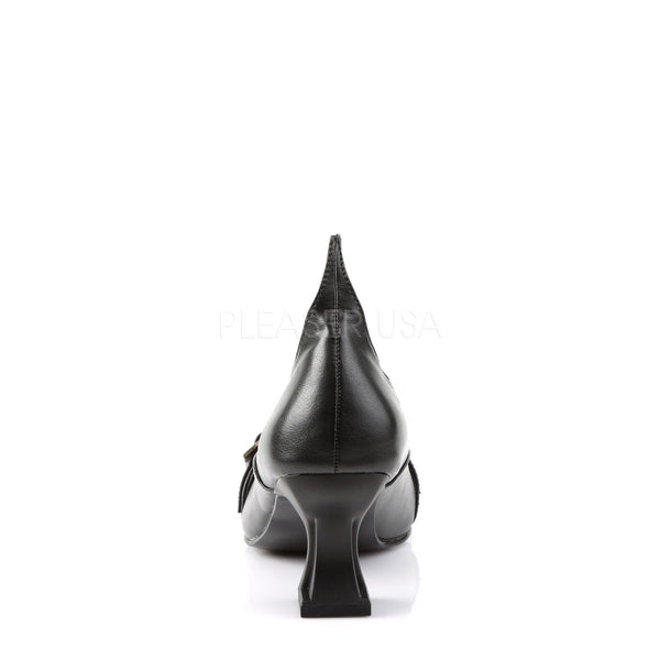 FUNTASMA SALEM-06 Black Pu Pumps