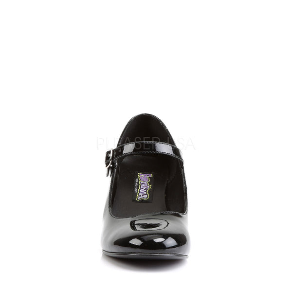 FUNTASMA SCHOOLGIRL-50 Black Pat Retro School Girl Shoes
