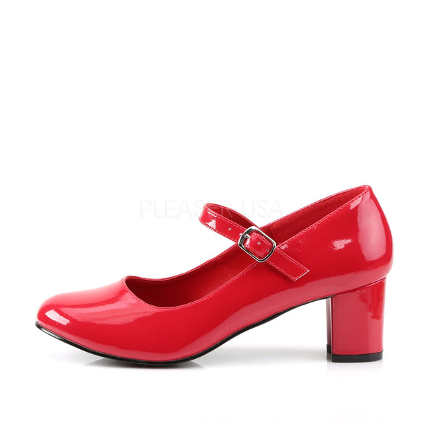 FUNTASMA SCHOOLGIRL-50 Red Pat Retro School Girl Shoes
