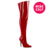"5"" Heel SEDUCE-3000WC Red Pat (Wide Calf)"